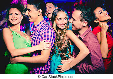 friends, clubbing