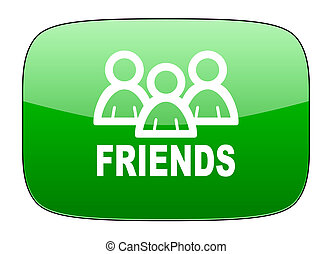 friends green icon