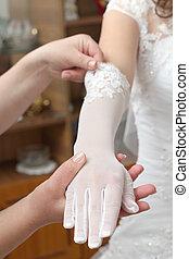 hand in a glove