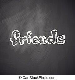 friends, ikone