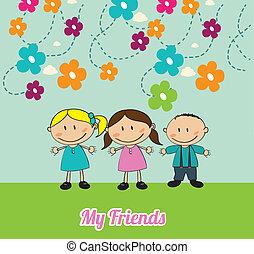 friends kids