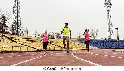 friends, rennender , geschwindigkeit