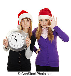 Friends show how little time is left until new year