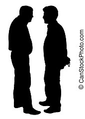 friends silhouette