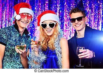 friends, weihnachten