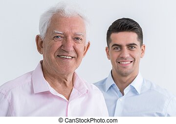 Friendship between father and son