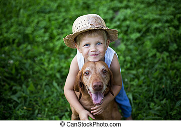 friendship between human and animal