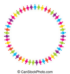 friendship - sign - the friendship of people unified by