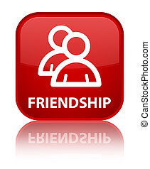 Friendship (group icon) special red square button