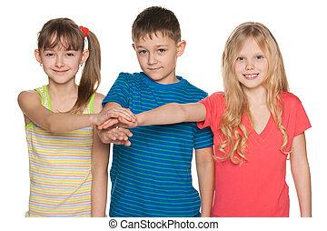 Friendship of children