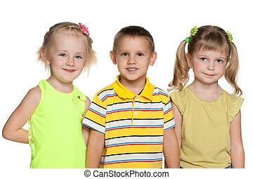 Friendship of three children
