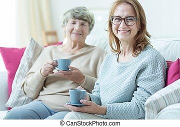 Friendship of two women