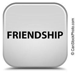 Friendship special white square button