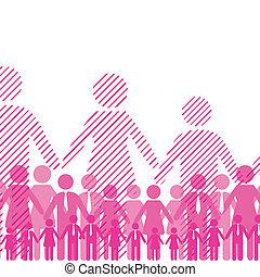 Friendship team - Business background friendship team people...