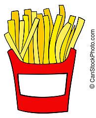 fries., フランス語