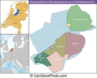 Flevoland is a province of the Netherlands located in the centre of the country