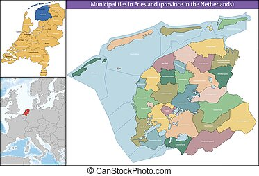 Friesland is a province of the Netherlands located in the northern part of the country