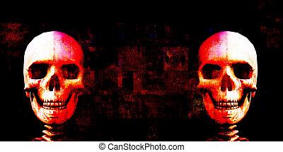 Fright Night Scary Movie Horror Fest Background