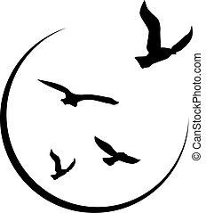 frihet, logo