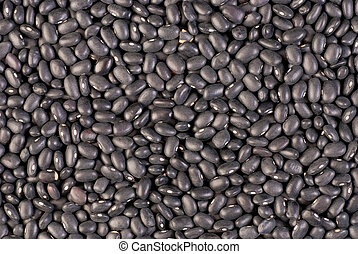 Frijoles - Background of dry black beans, south american...