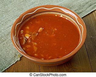Frijoles Puercos Mexican bean  stew