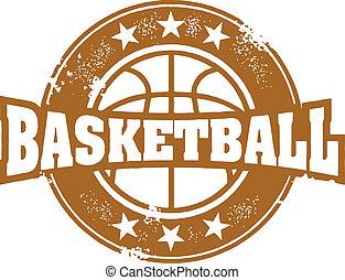frimærke, basketball, sport