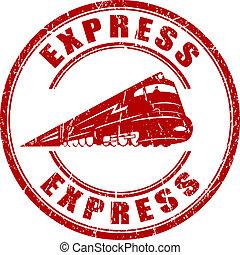 frimærke, ekspres