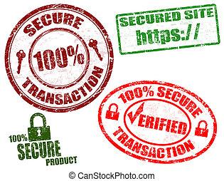 frimærker, secure