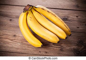 fris, bananen
