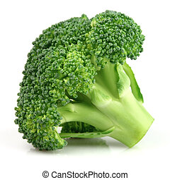 fris, broccoli, in, closeup