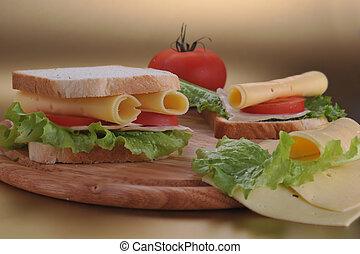 fris, broodje, smakelijk