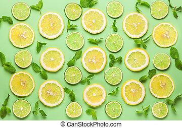 fris, citroen linde