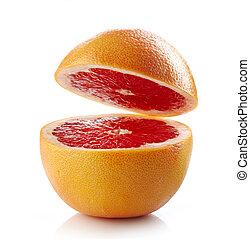 fris, grapefruit, helft