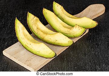 fris, groene, steen, grijze , avocado