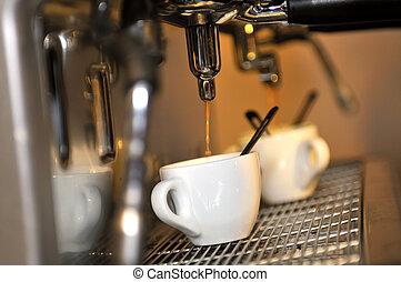 fris, koffie