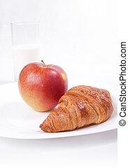 fris, ontbijt, licht