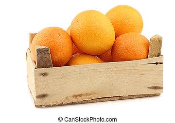 fris, sinaasappel, in, een, ?????? ????ß?