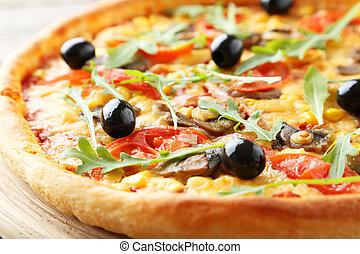 fris, smakelijk, pizza