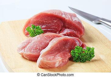 fris, varkensvlees, vlees