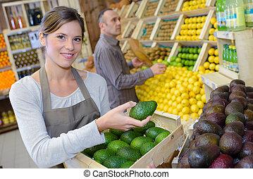 frisch, avocado, auslieferung
