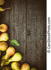 frisch, birnen