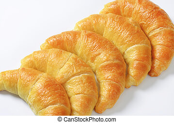 frisch, halbmond, brötchen, (croissants)