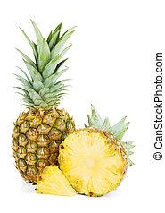 frisch, saftig, ananas