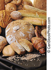 frisches brot, essensgruppe