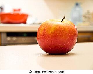 frisk, äpple