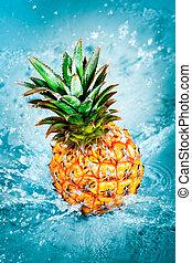 frisk, ananas