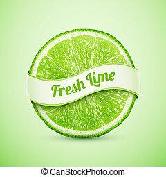 frisk, band, lime