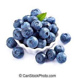 frisk, blåbär
