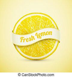 frisk, citron, band
