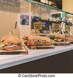 frisk, Dubbelsmörgåsar, italiensk